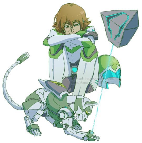 Kay but imagine Pidge creating little pet lions for everyone that have the same personalities as the lions they fight in!