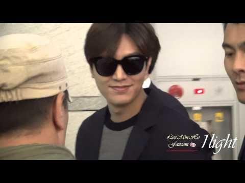 Lee Min Ho 20150224 Incheon Airport 필리핀 출국