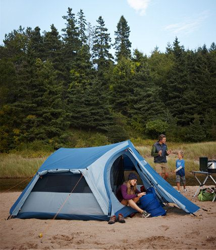 Just replaced my tent with this one from LLBean.  Had a Bean tent that lasted 15 years. This one (Acadia) is 30% off! Only $139, no shipping cost. Beach camping here I come!