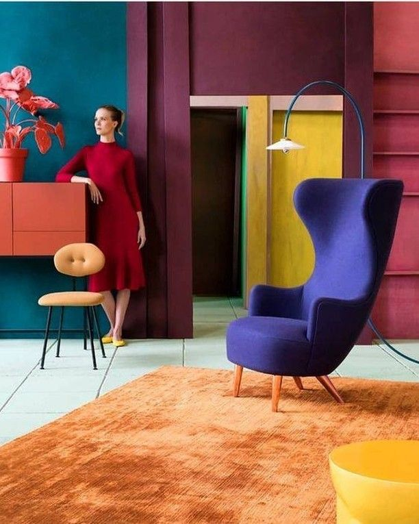 10 Most Popular Yellow And Purple Living Room