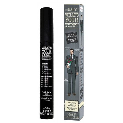 The Balm What's Your Type? Tall, Dark and Handsome Mascara Black