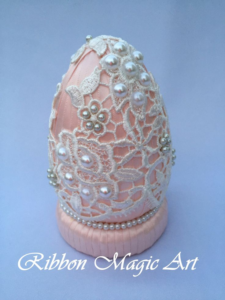 A personal favorite from my Etsy shop https://www.etsy.com/listing/270959547/vintage-lace-easter-egg-easter-eggs