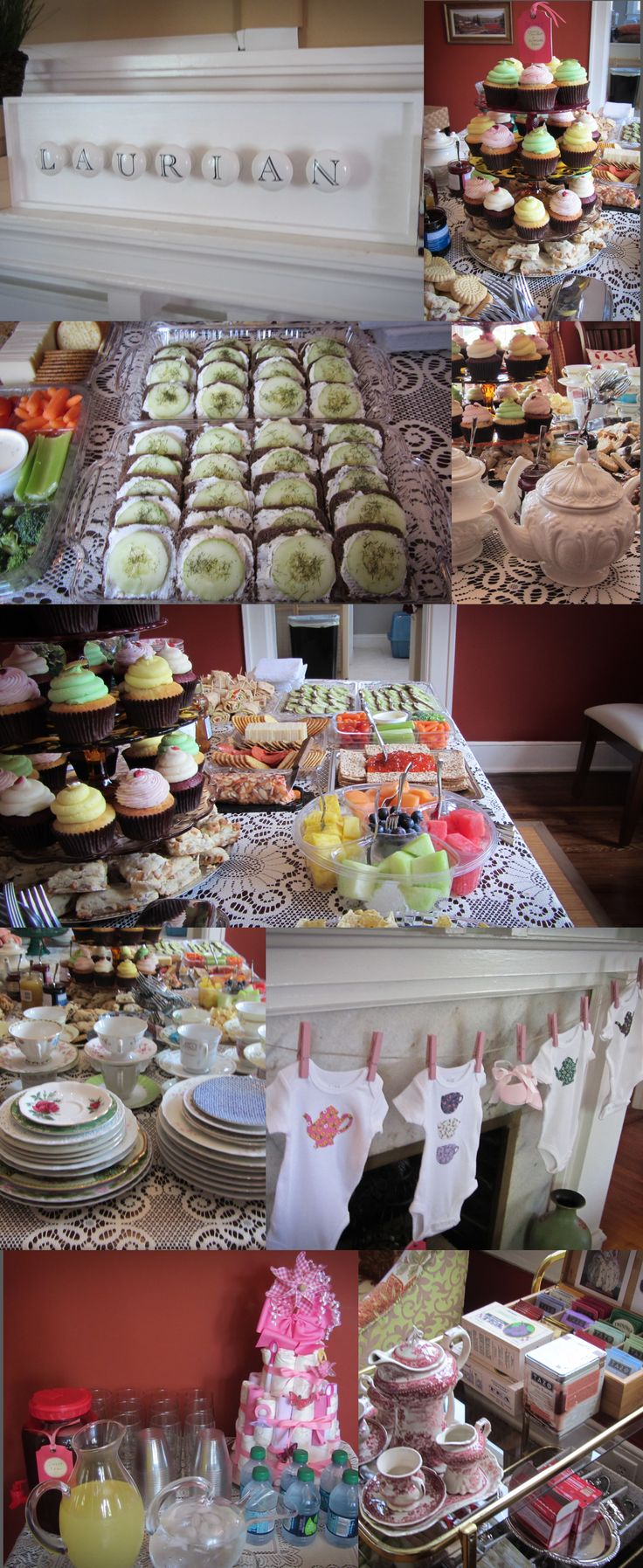 15e49bf27f50f7623542acac2cde1059 Tea Party Baby Shower Second