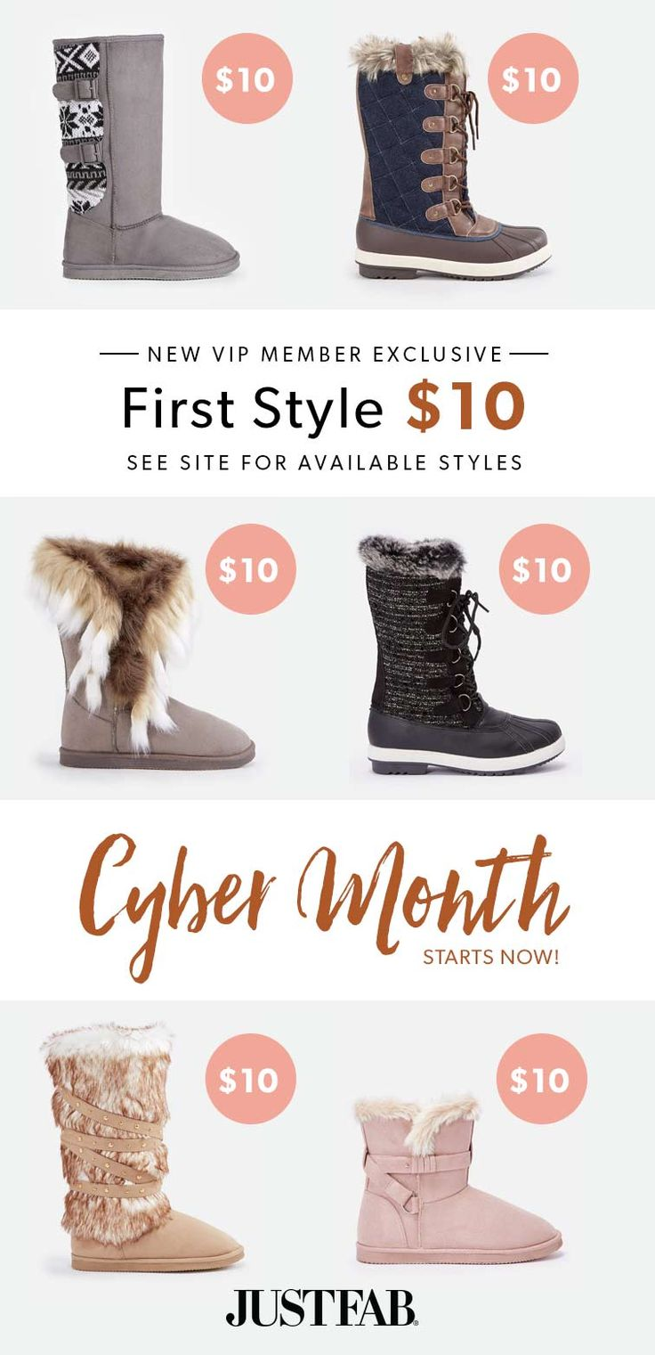 Cyber Month Is Here! - Get Your First Pair of Fuzzies for Only $10! Take the 60 Second Style Quiz to get this exclusive offer!