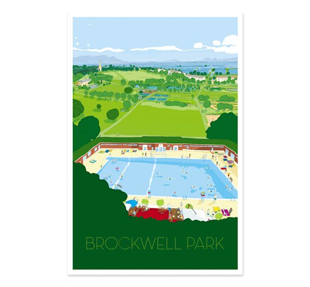 Brockwell Park print ....want for our house