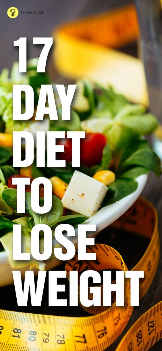 Want to put off the weight? Not able to determine what diet to take up? Here is a 17 day diet weight loss plan program that works so well to burn ...