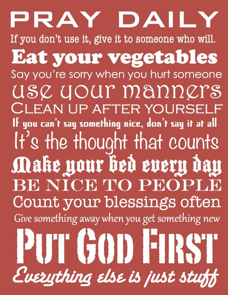 Simple Rules.