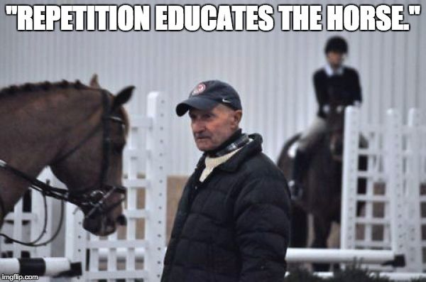 Clinic Report: George Morris in Wilsonville, Oregon… With Memes