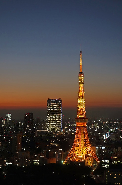 Tokyo Tower and Roppongi Hills