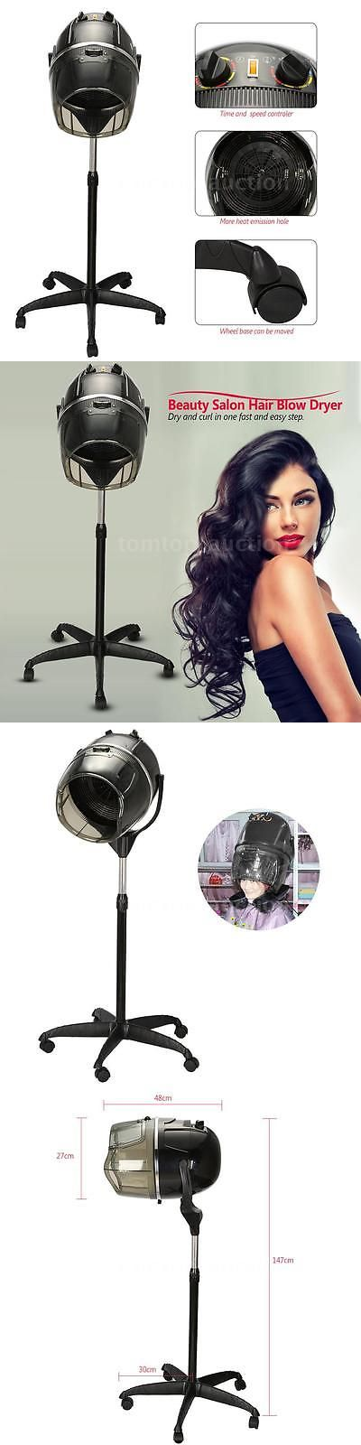 Hair Dryers: Pro Rolling Stand Salon Hair Blow Dryer Bonnet Hood Base Hair Dryer Timer H9m2 -> BUY IT NOW ONLY: $74.99 on eBay!