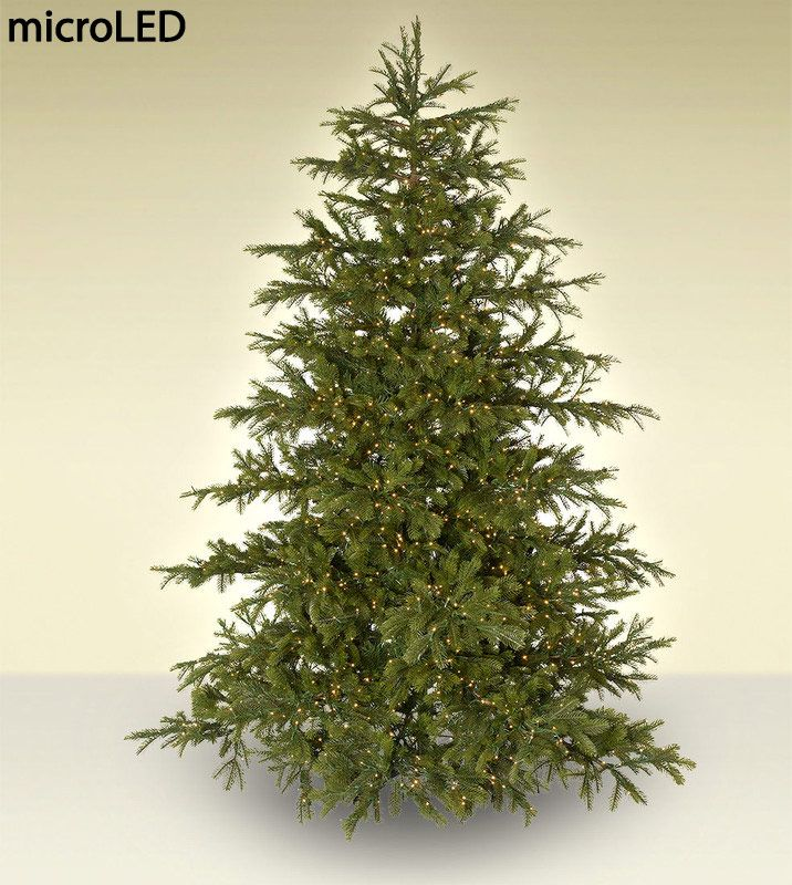 The Enchanted White Spruce Is Simply The Most Stunning Christmas Tree We Ve Ever Created It Is Made Of Nearly 100 Pe Branche White Spruce Tree Christmas Tree