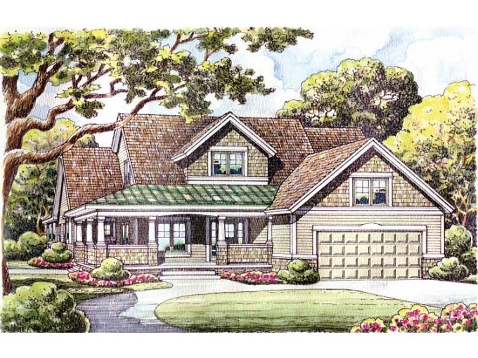 Eplans Craftsman House Plan 2516 Sq Ft House Plan Code