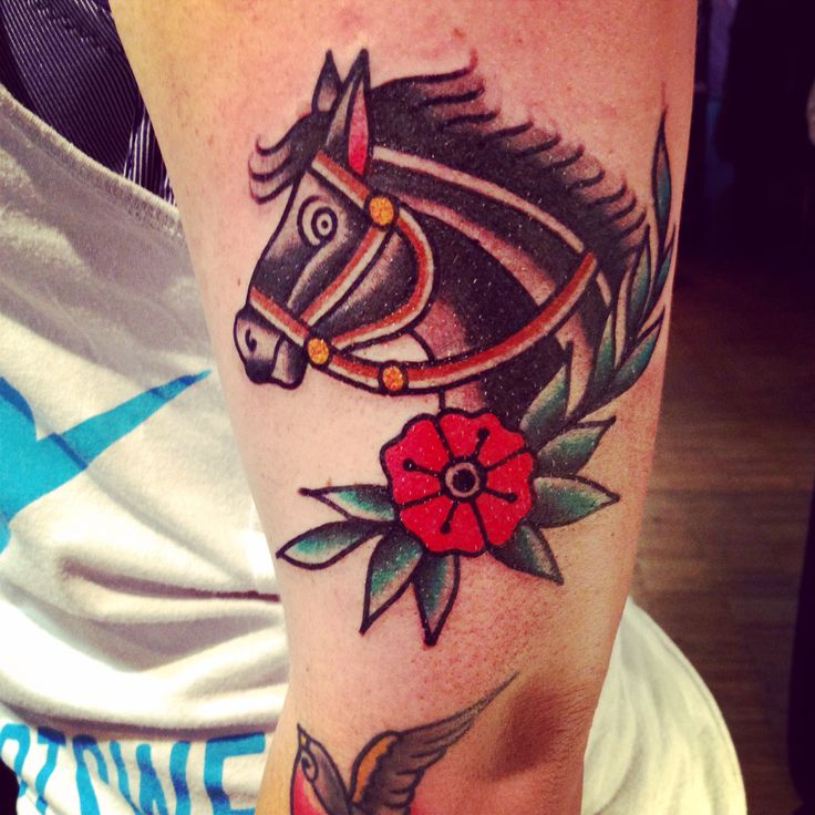 Paint horse!!!!!  Tattoo