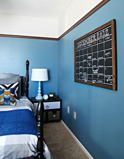 55Preston's Bedroom Update: A DIY Chalkboard Calendar