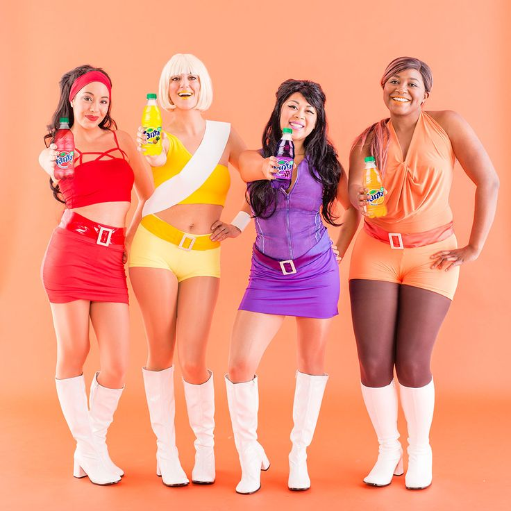 56 best awesome diy halloween costumes images on pinterest grab your girls because we know you wanna fanta girl group halloween costumesdiy solutioingenieria Image collections