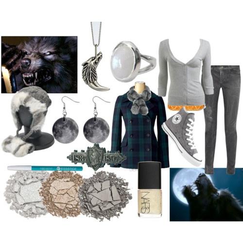 Werewolf inspired fashion.