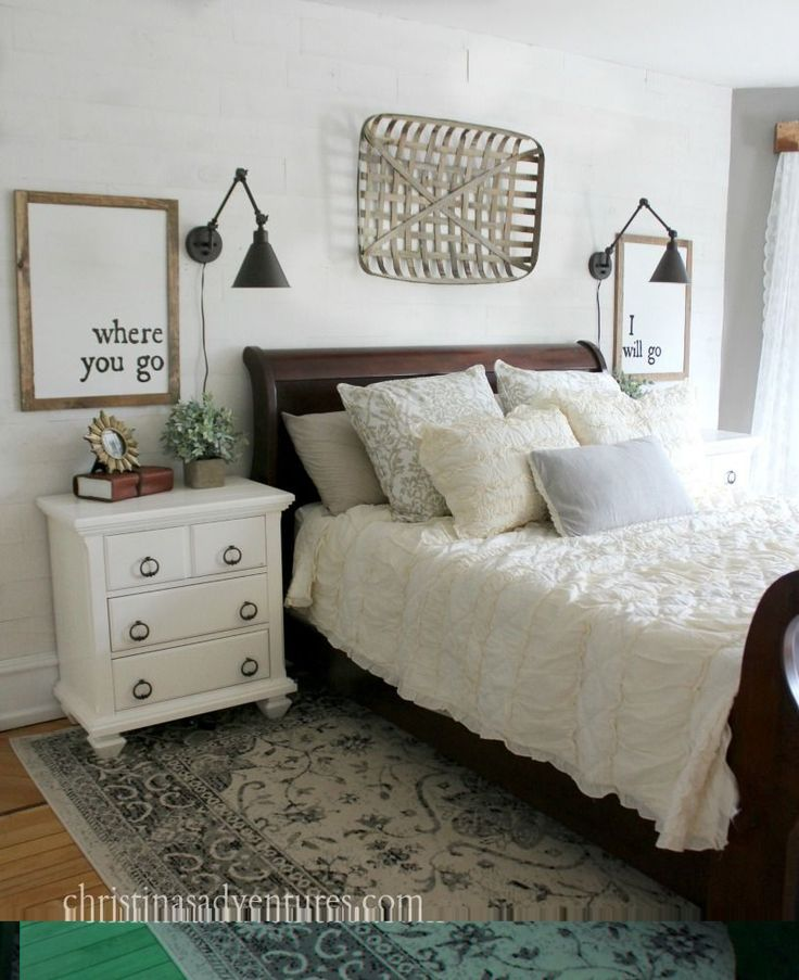 Inspiring and easily achievable farmhouse bedroom design