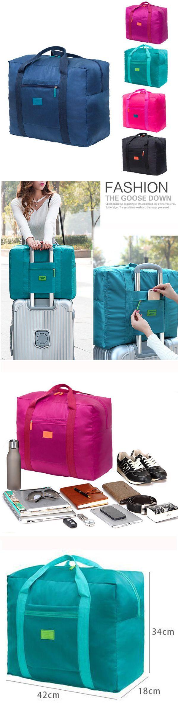 US$6.89  Women Nylon Travel Bag Outdoor Must-have Organizer Storage Bag High-end Luggage Bag
