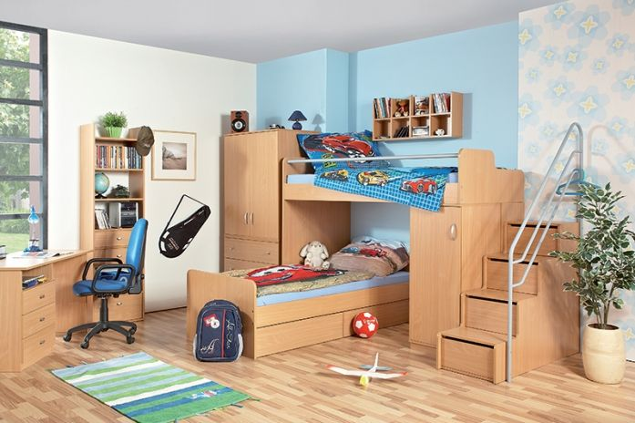 Dětský pokoje DONALD z kvalitního lamina