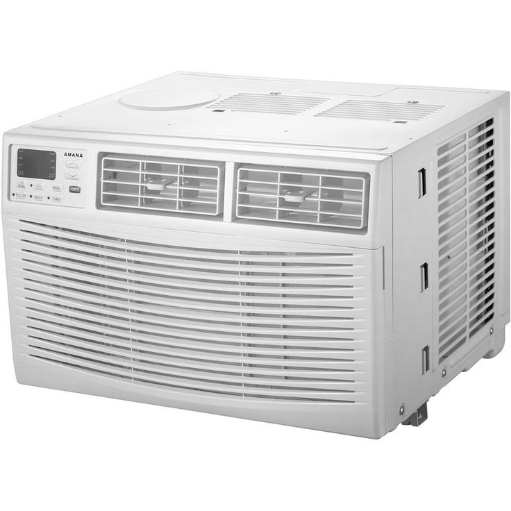 Amana Energy Star 10,000 BTU Window Air Conditioner with Dehumidifier and Remote, White