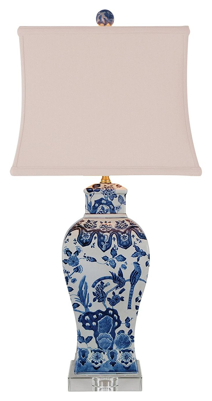 448 best lighting table lamps images on pinterest blue and east enterprises lpdbwn1015k table lamp bluewhite geotapseo Image collections