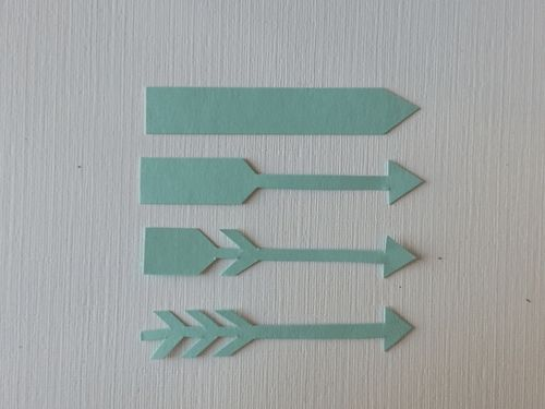 Cute arrows, perfect for Valentine cards!