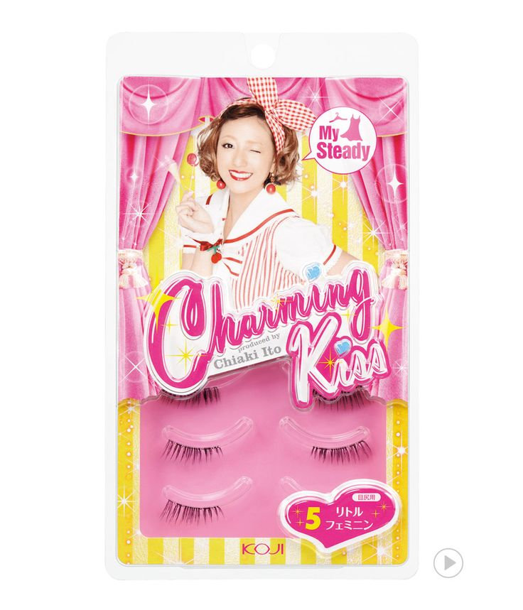Charming Kiss Eyelash No.5 Little Feminine                          챠밍키스 아이래쉬 NO.5 리틀 페미닌