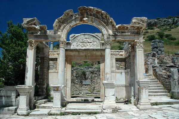 The Temple of Trajanus, Ephesus