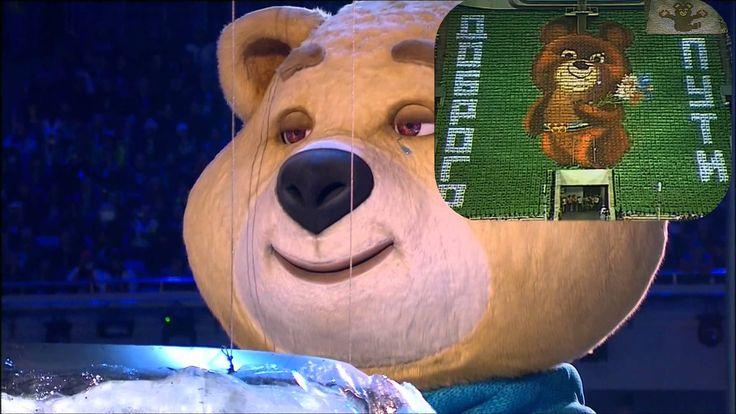 Олимпийские слезы Олимпийских Мишек. Olympic tears Olympic Bears.