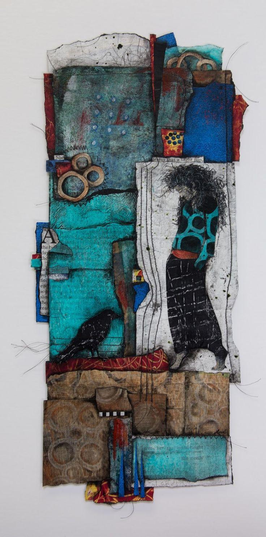 Collage art of Laura Lein-Svencner: The Mystic
