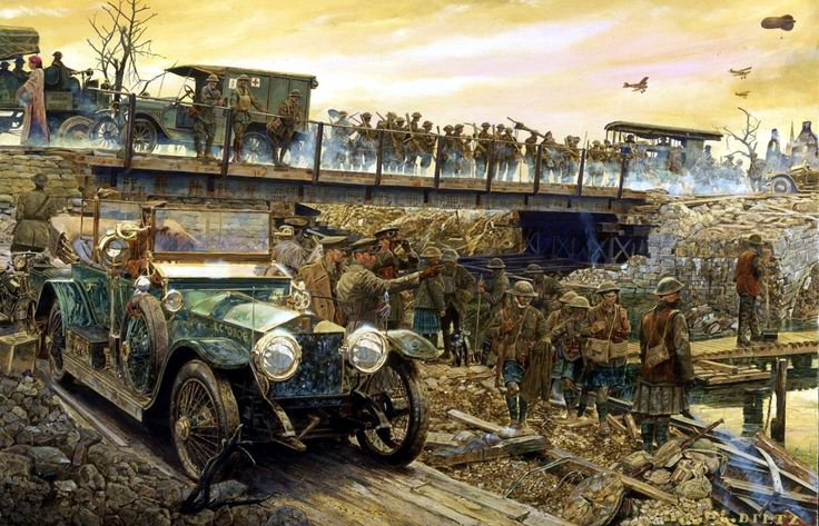 1918 Rolls in the rough - James Dietz