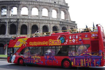 There are a number of tour companies offering double decker bus tours of the city. If your time in Rome is limited, this can be a good way to see most of the top sites, with the flexibility to get off the bus and explore those in which you're particularly interested.