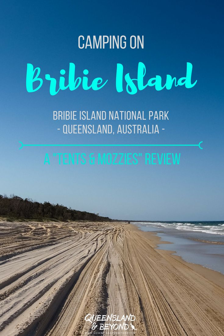 """Exploring Bribie Island in Queensland, Australia, by 4WD and camping is one of the best way to see the island. But where should you camp? Here's my """"tents & mozzies"""" review of our experience camping at Bribie. 🌐 Queensland & Beyond #bribieisland #queensland #camping #australia #4WD"""