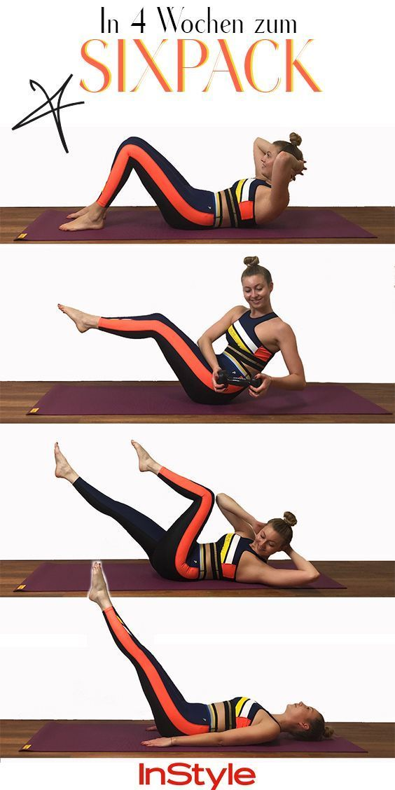 Sixpack Challenge: In six weeks to six pack with these exercises
