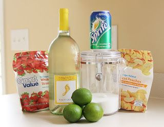 The Perfect White Wine Sangria! Bringing this to the next mom's night out!