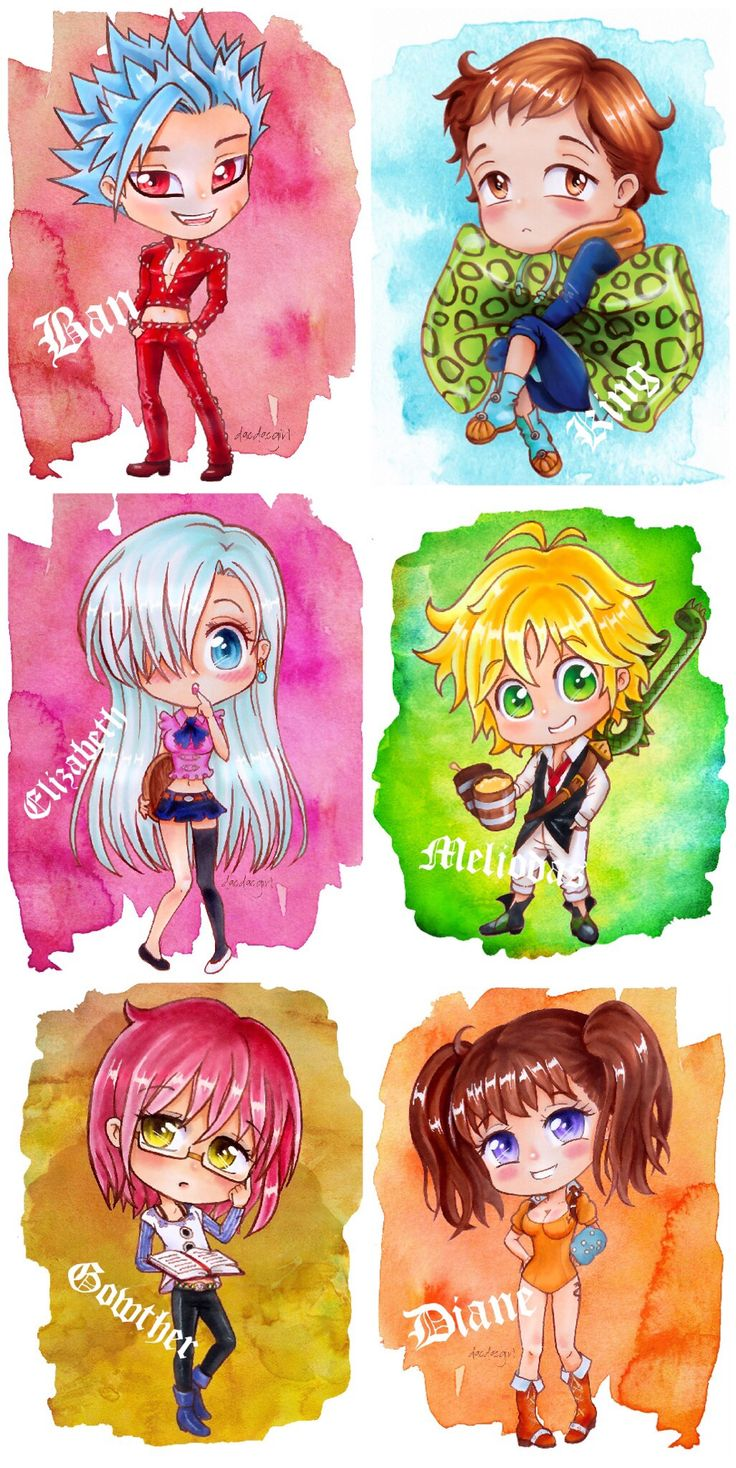 The seven deadly sins and I want to say this the princces is like part of them after all she did and saved them