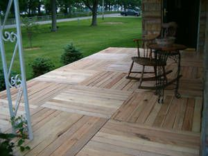 DIY - Pallet Wood Deck