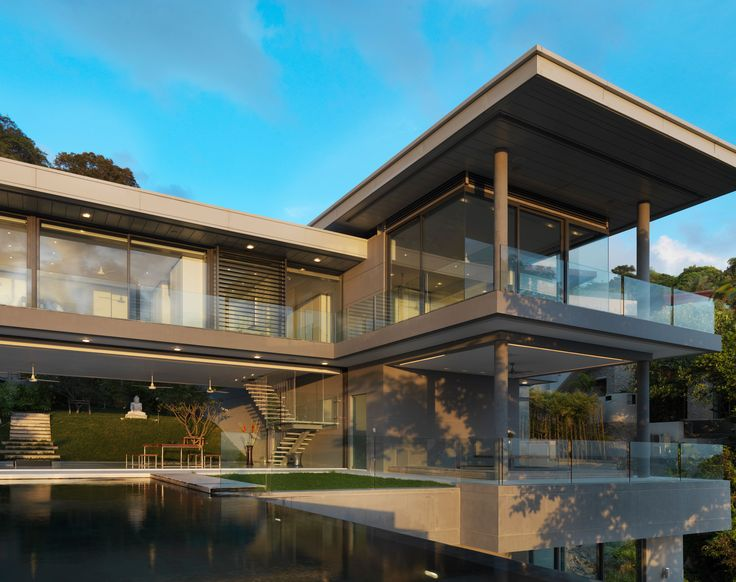 Villa Amanzi | 6 Bedrooms #luxury #modern #minimalist #architect #exterior #
