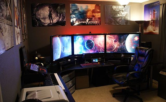 Living Room Pc Gaming Table