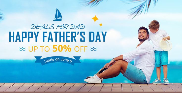 Happy Father's Day, Flash Deal from Everbuying Deals for Dad, Up to 50% Off  http://www.mobilescoupons.com/coupons-deals/happy-fathers-day-flash-deal-from-everbuying