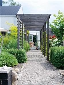 Spaljégång för trädgård