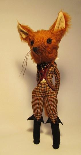 Mr Fox by Emma Cocker - Craftydermy