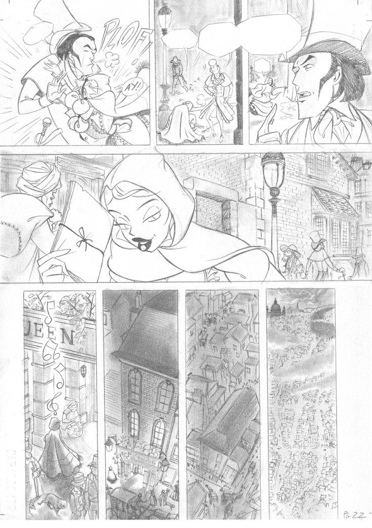 Pagina22 c1: lápiz de grafito sobre papel caballo Dina3: 300 € David Belmonte ©