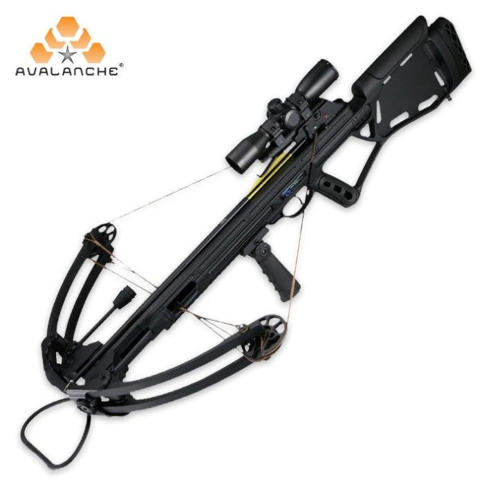 Head Hunter Tactical Compound Crossbow | BUDK.com - Knives & Swords At The Lowest Prices!