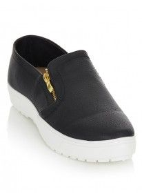Tom Tom | Slip-ons Black