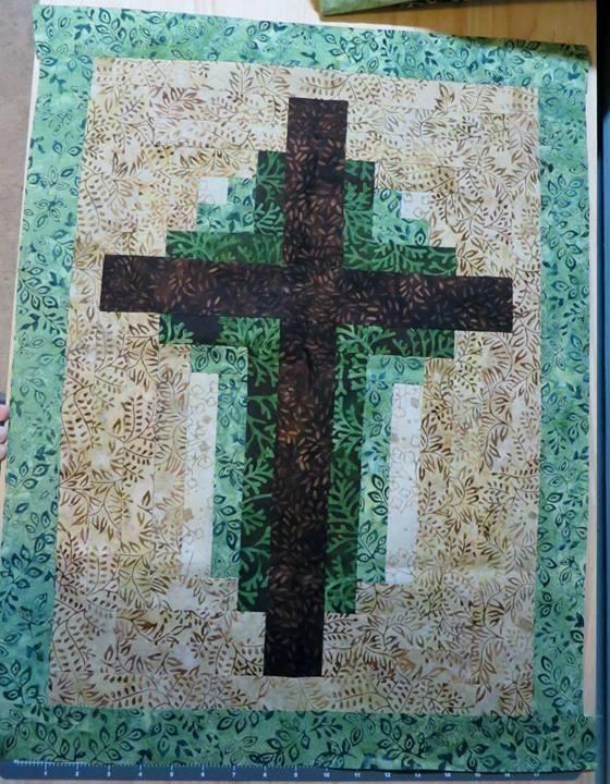 Log Cabin Cross Pattern Projects To Try Pinterest