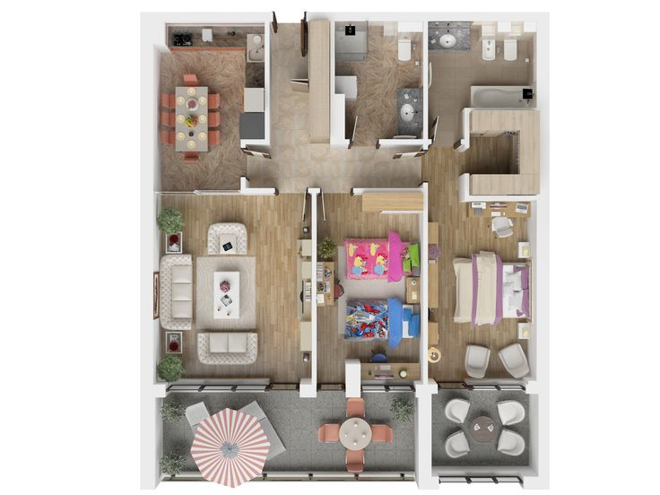 Apartament cu 3 camere in Brasov - Isaran Residence - Bucura-te de un apartament 3 camere, decomandat, impreuna cu cei dragi! Descopera mai multe www.isaran.ro