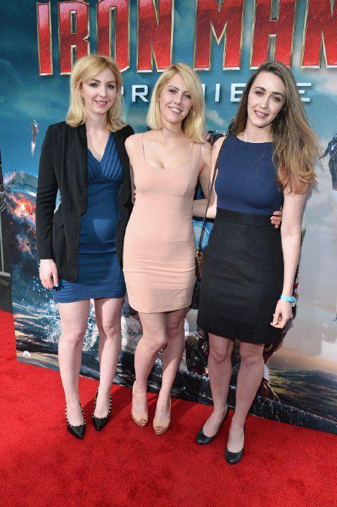 Madeline Zima, Vanessa Zima and Yvonne Zima at event of Iron Man 3 (2013)