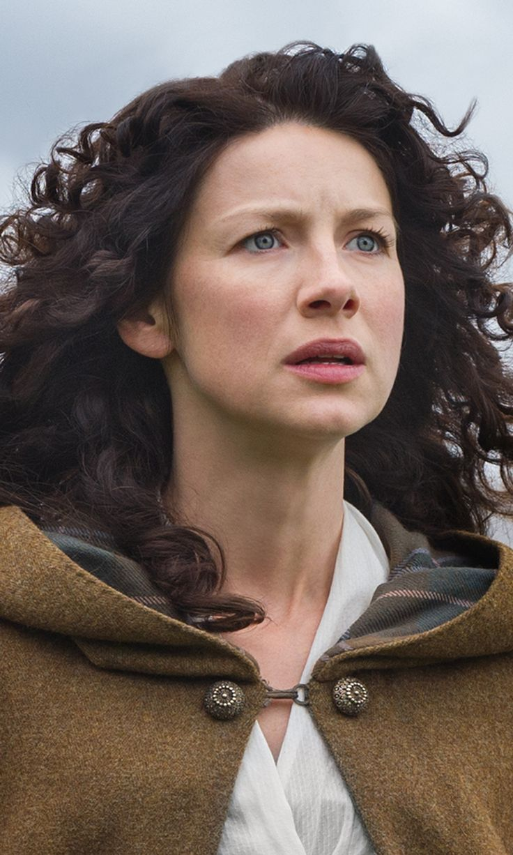 Outlander: Claire Fraser played by Caitriona Balfe Season 1B cast still