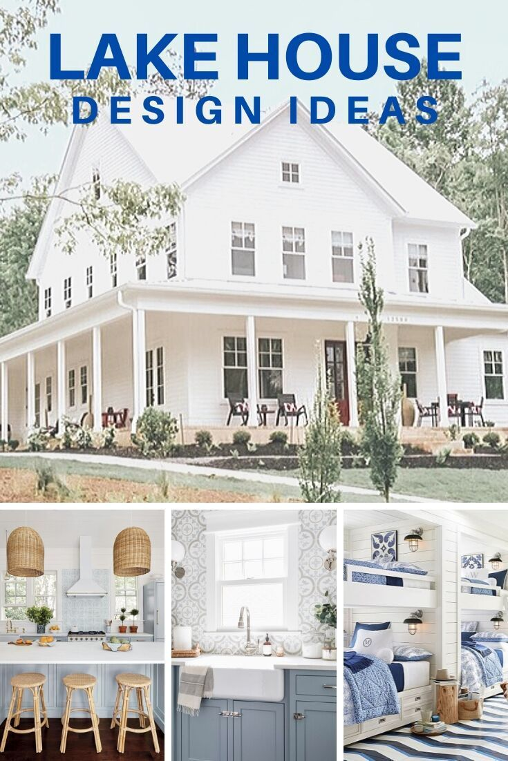 Charming Lake House Design Ideas In 2020 Lake House Interior House Design Lake House